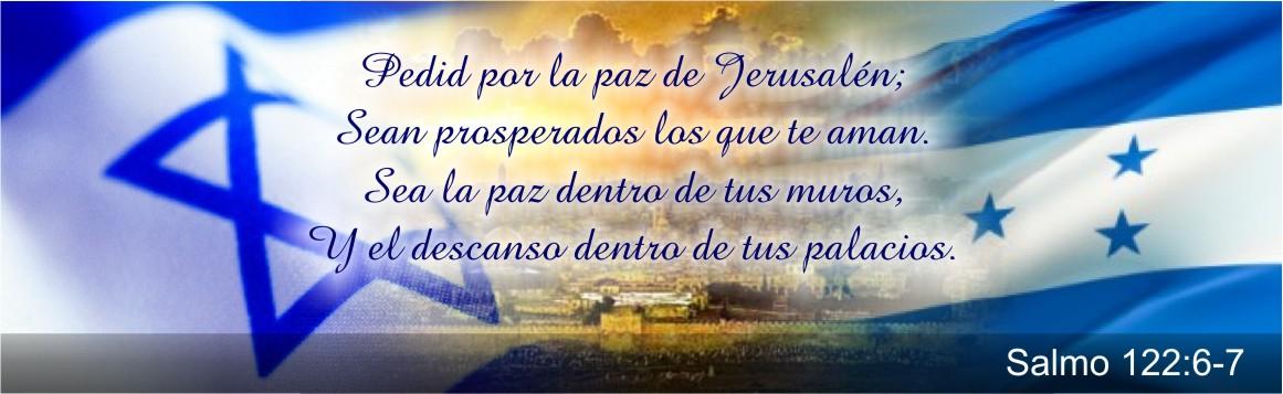 Orad Por La Paz De Jerusalén