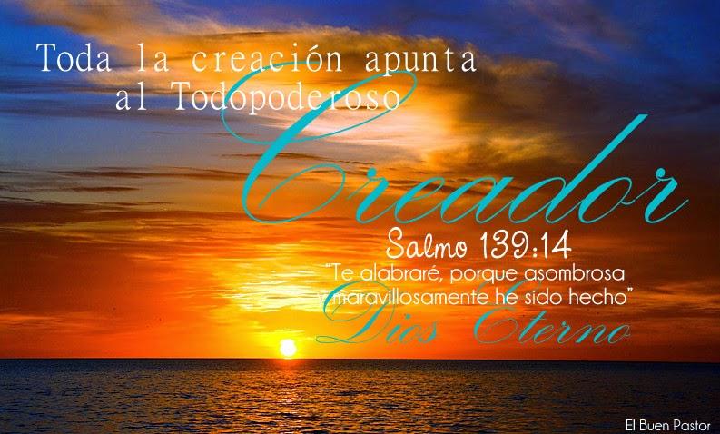 Creacion de Dios