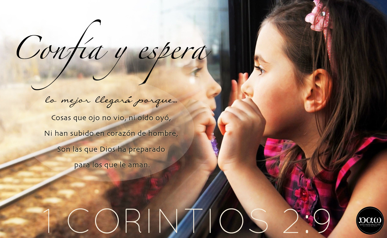 esperar con paciencia la promesa de Dios - devocionales