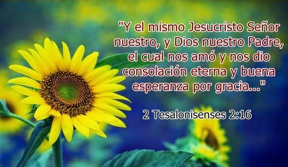Dios nuestro Padre... nos amó y nos dio consolación eterna.