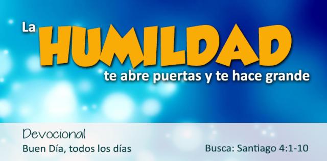 HUMILDAD ABRE PUERTAS