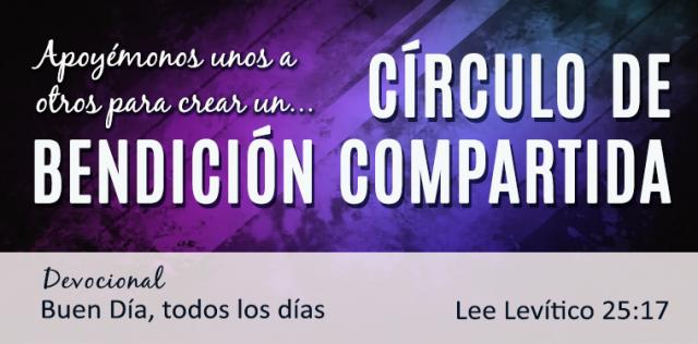 CIRCULO DE BENDICION COMPARTIDA