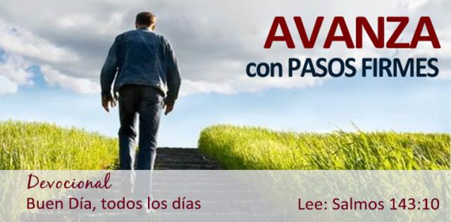 AVANZA CON PASO FIRME