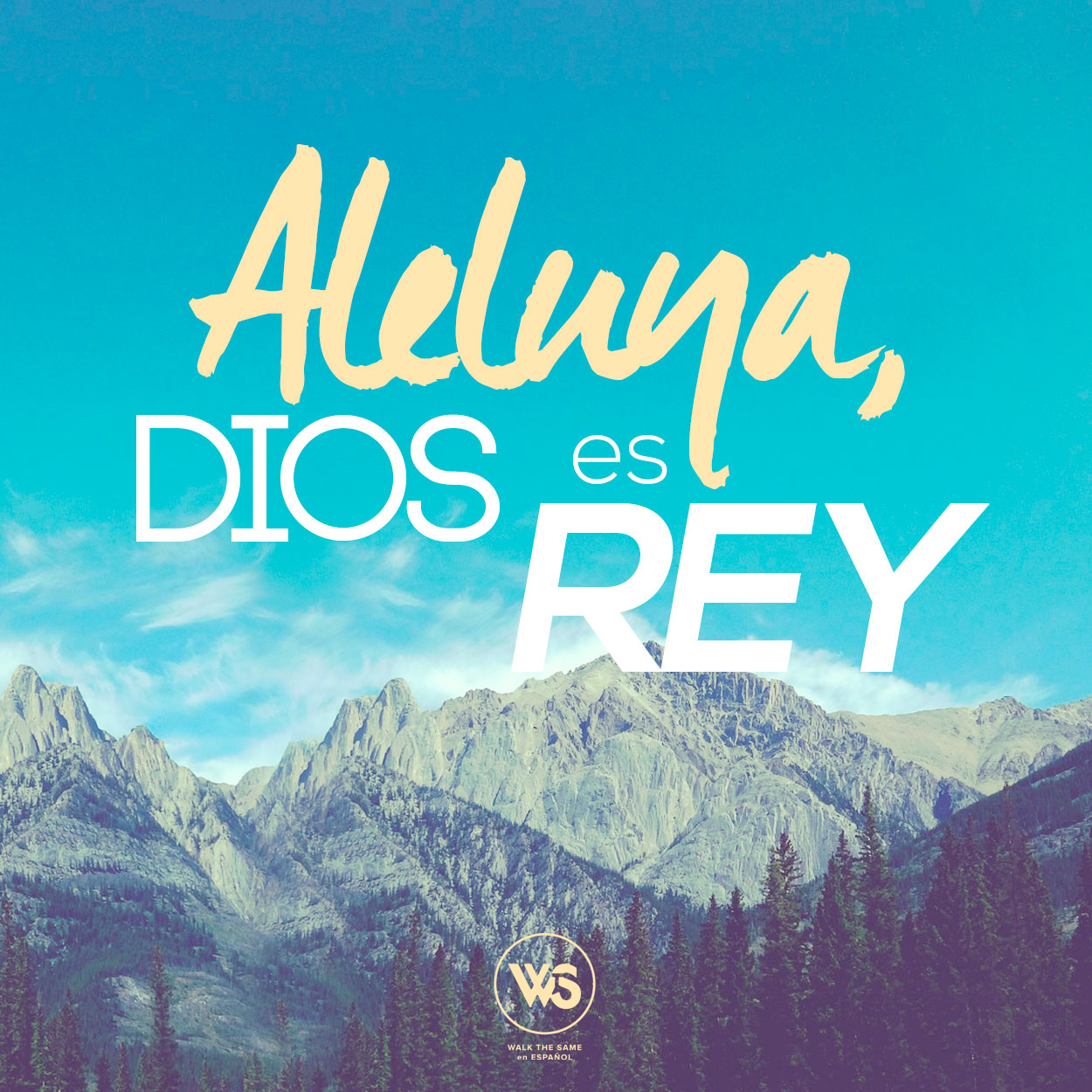 Aleluya, gloria a Dios