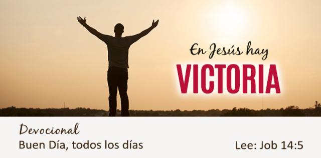 EN JESUS HAY VICTORIA