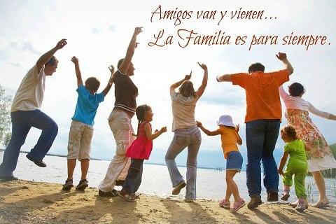 la familia es para siempre