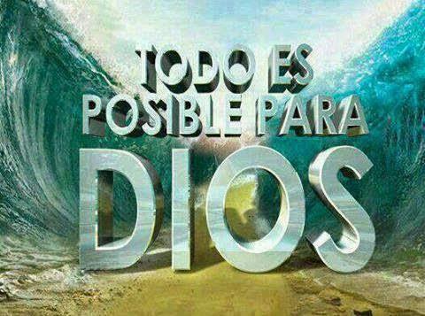 todo es posible para Dios