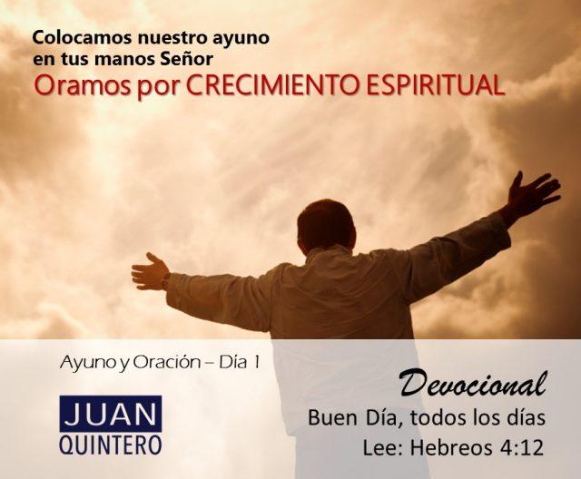 AYUNO DIA 1 - CRECIMIENTO
