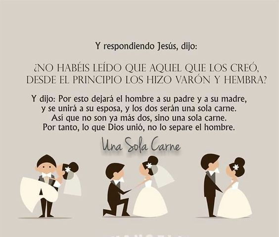 Matrimonio Entre Familia Biblia : Matrimonio y familia