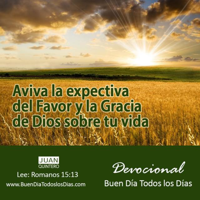 Buen Día Y Tu Expectativa